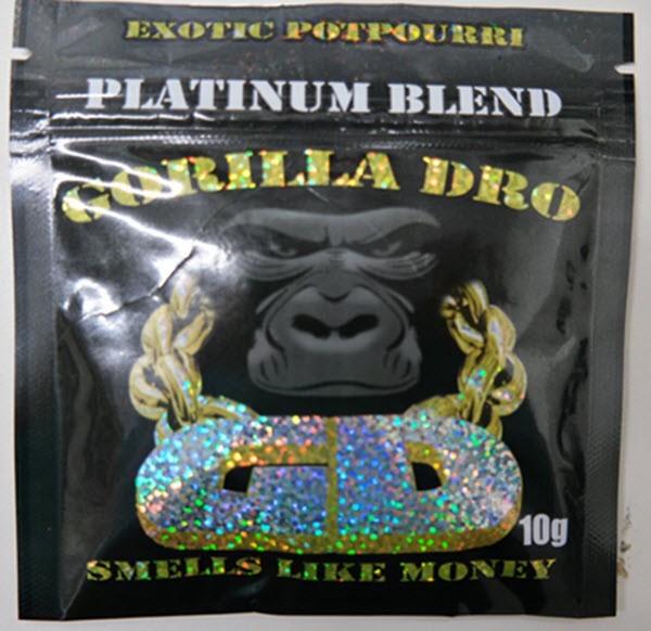 Gorilla Dro Platinum 10Grams