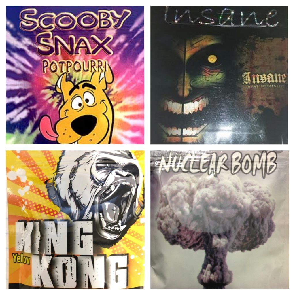 Dope Deal ( Scooby Snax, Insane, Yellow King Kong, Nuclear Bomb)