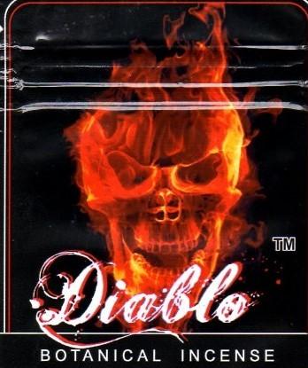 Diablo Incense 10G (Hypnotic Flavor)