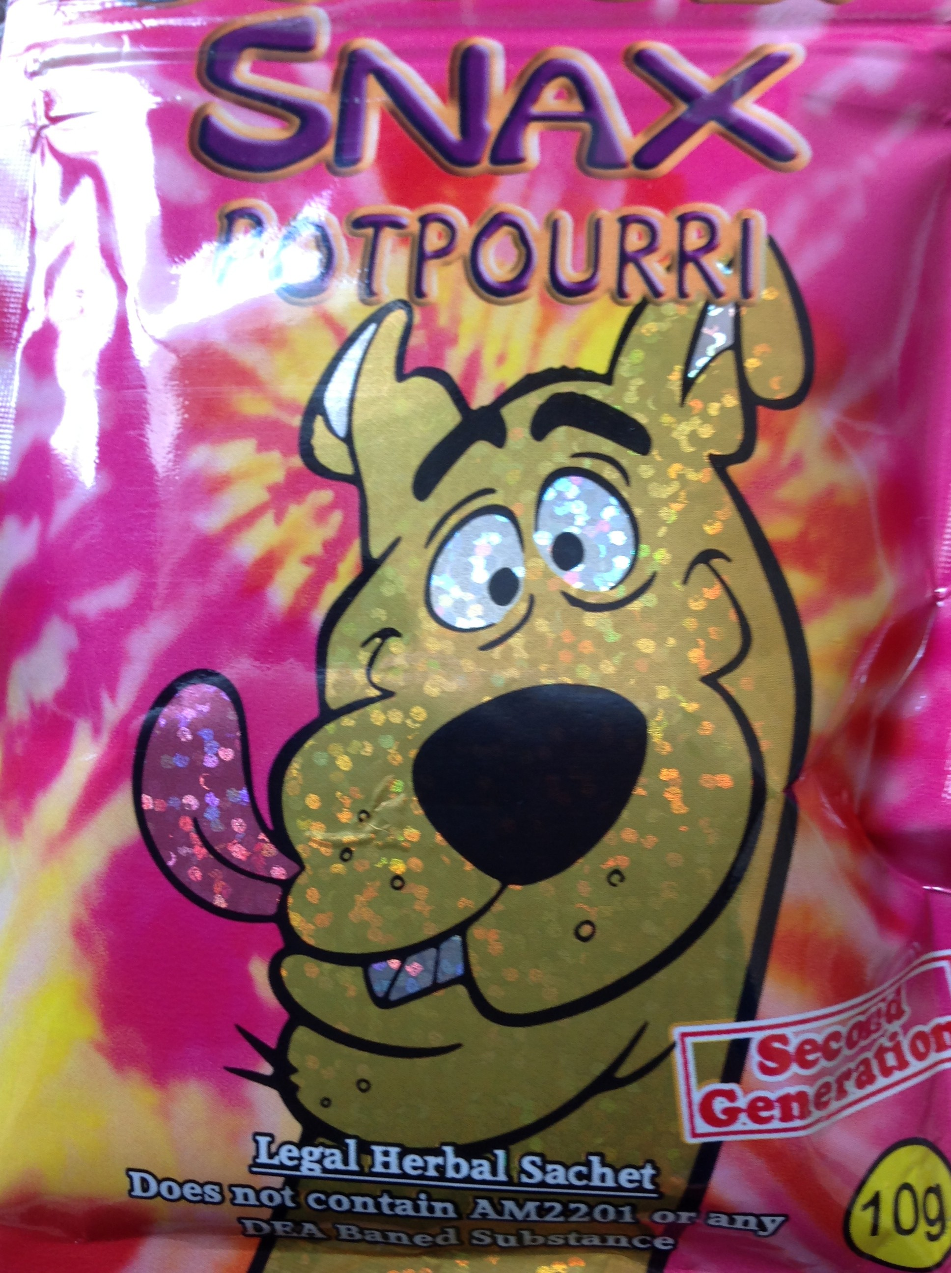 Scooby Snax Potpourri in a Silver Bag 10G