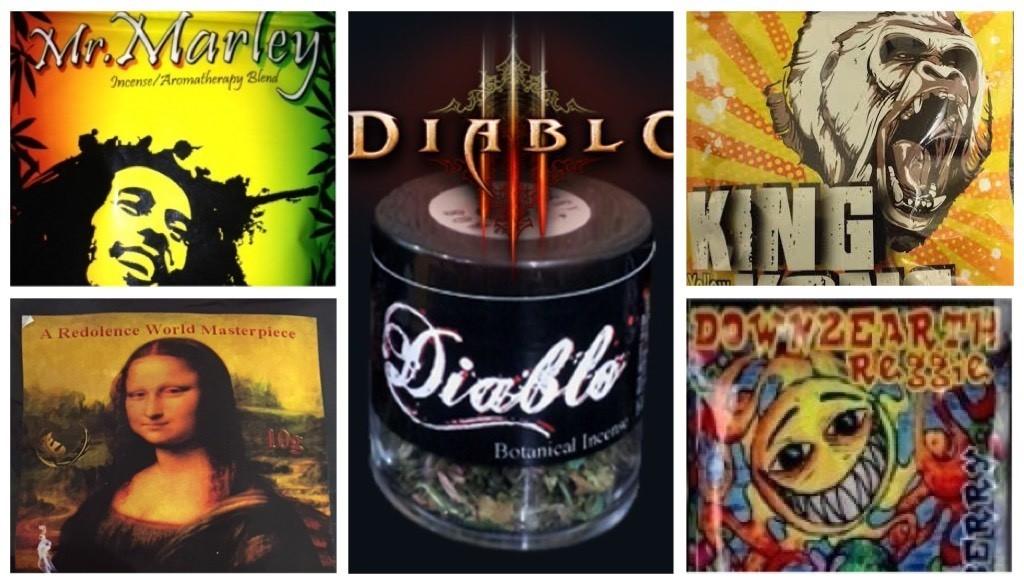 45 Grams Deal ( 10G Mr Marley+ 10G Stona Lisa+ 10G Down2Earth + 10G King Kong + 5G Diablo Jar)