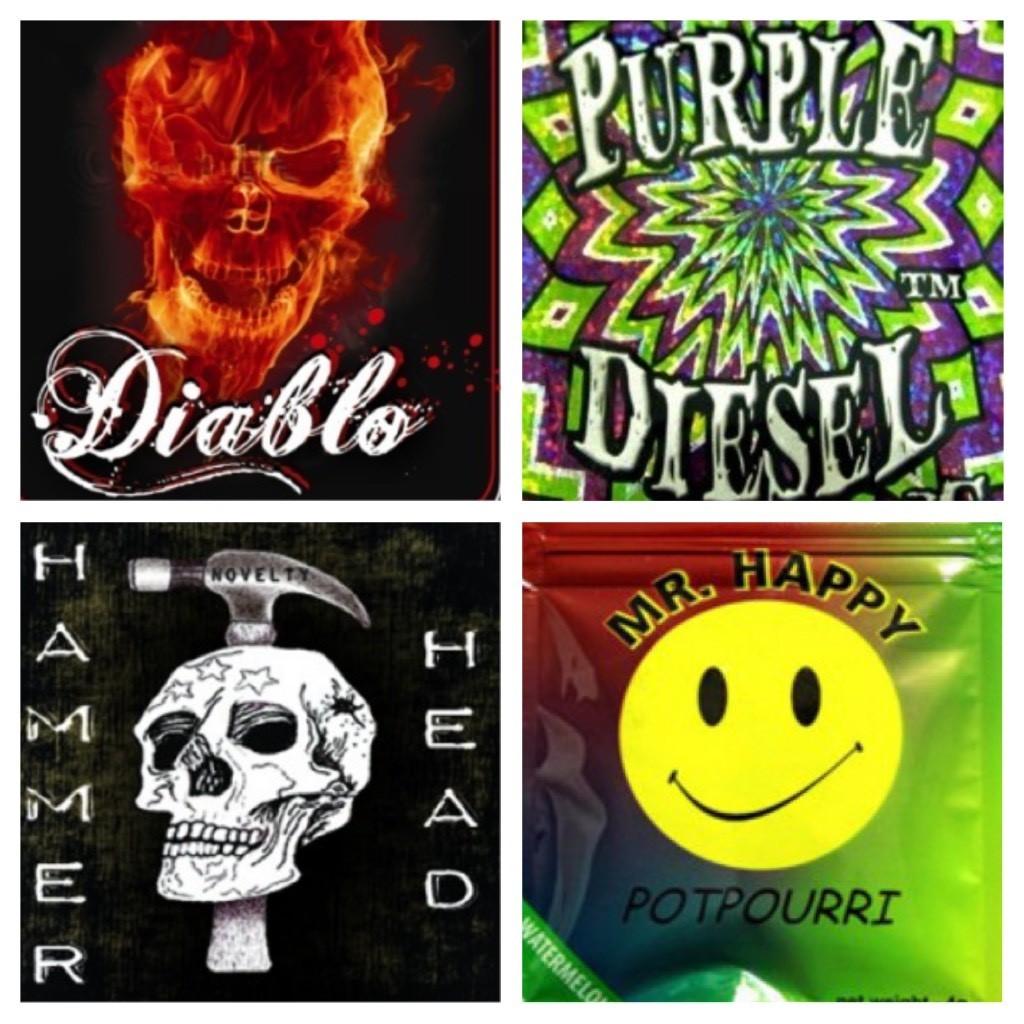 Dope Deal (Diablo, Purple Diesel, Hammer Head, Mr. Happy)