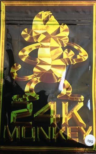 24K Monkey in a Black Bag10G