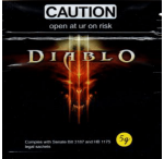 Caution Diablo (Hypnotic Platinum Blend) 5 Grams