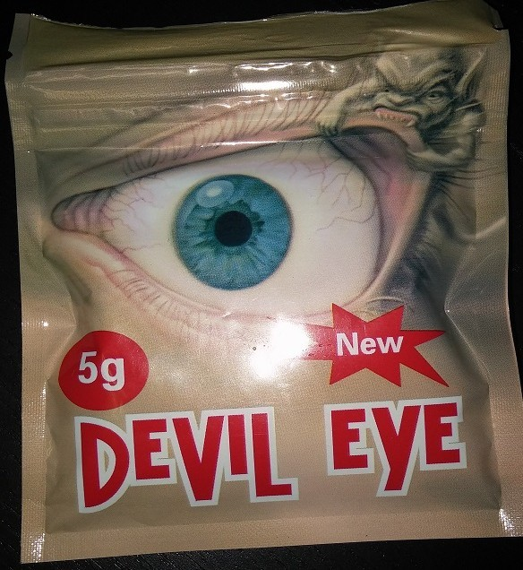 Devil Eye 5G in a Black Bag