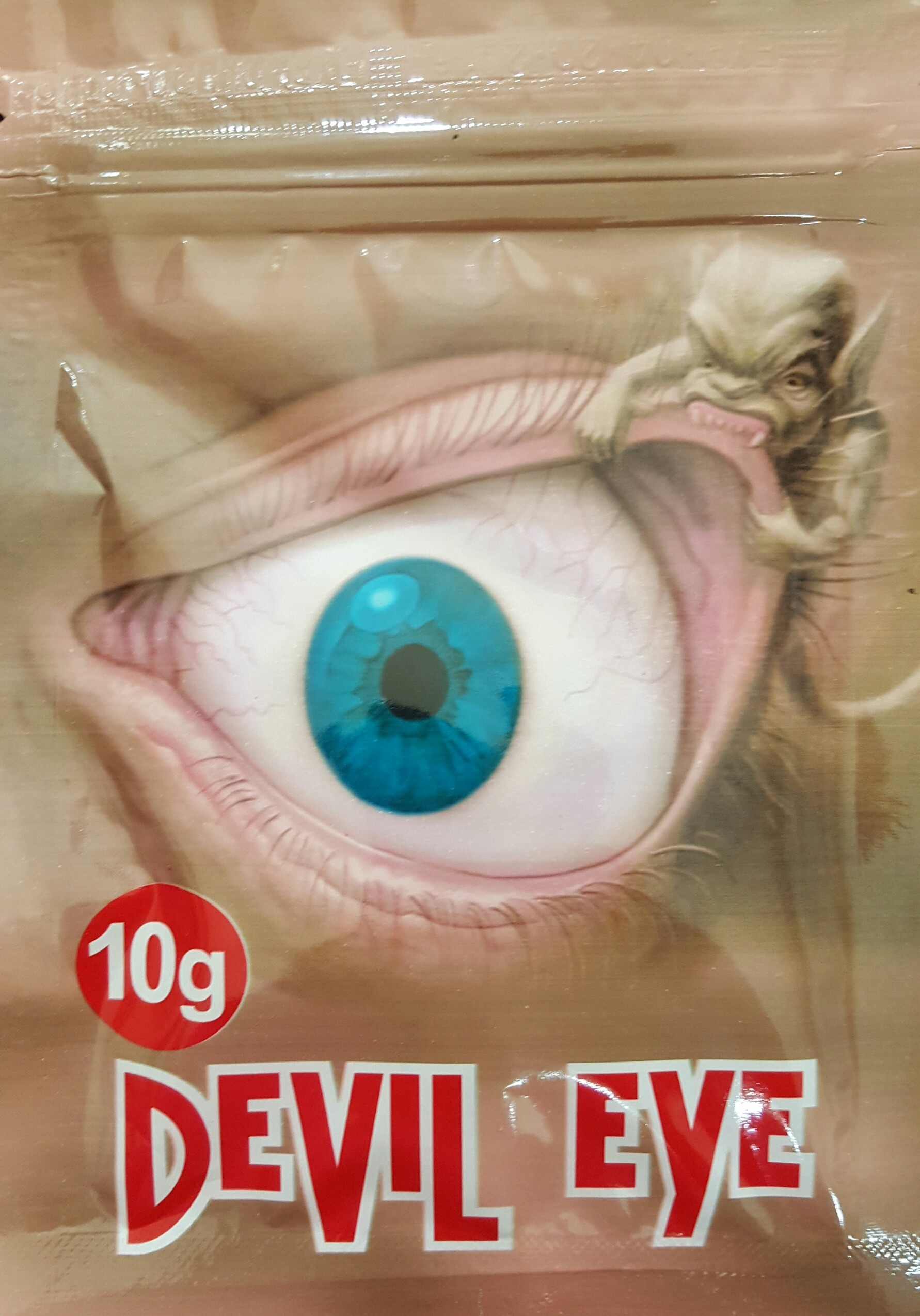 Devil Eye 10G in a Black Bag